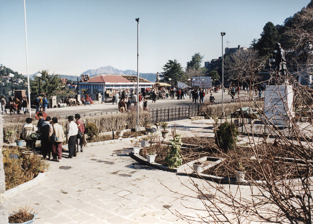 Shimla town square