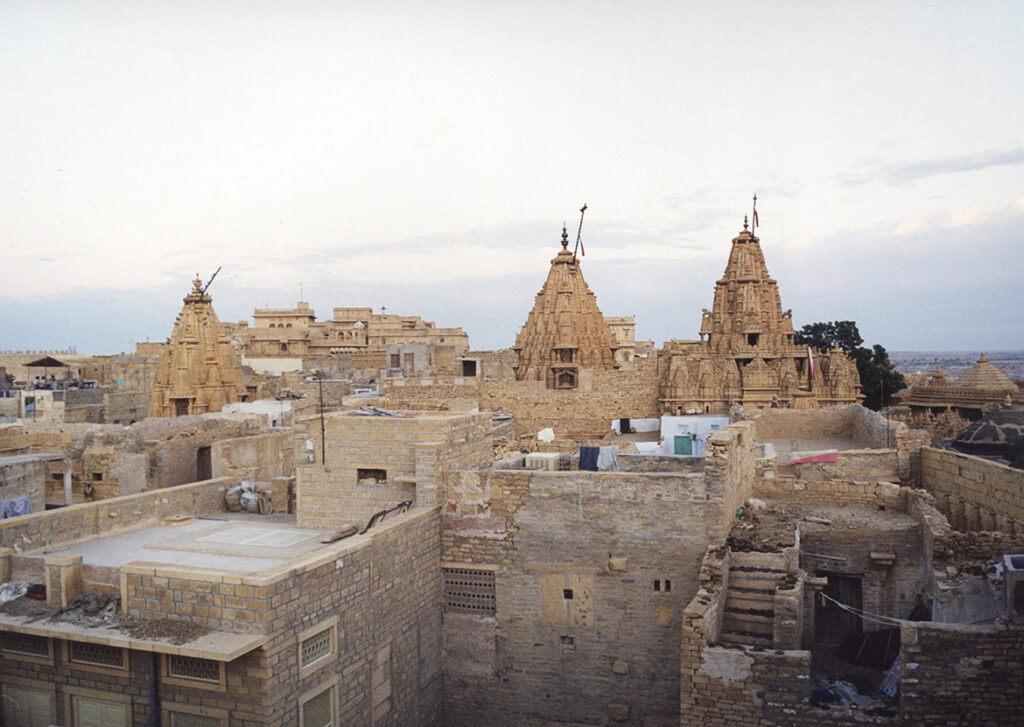 Jaisalmer, view from the hotel roof