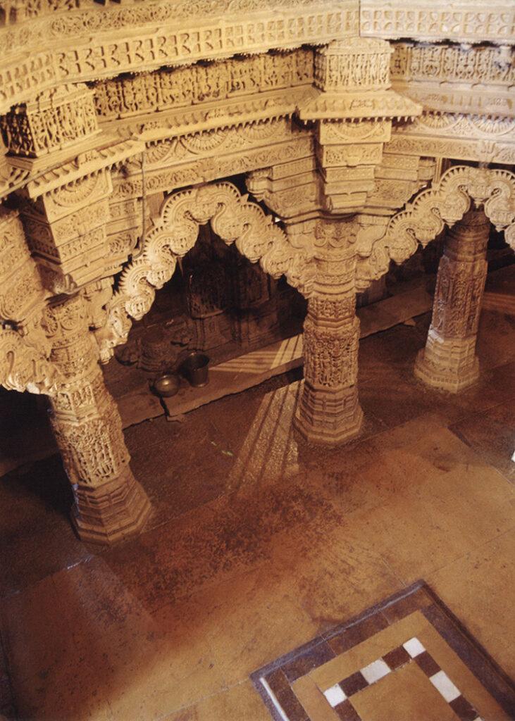 Jain temple decoration