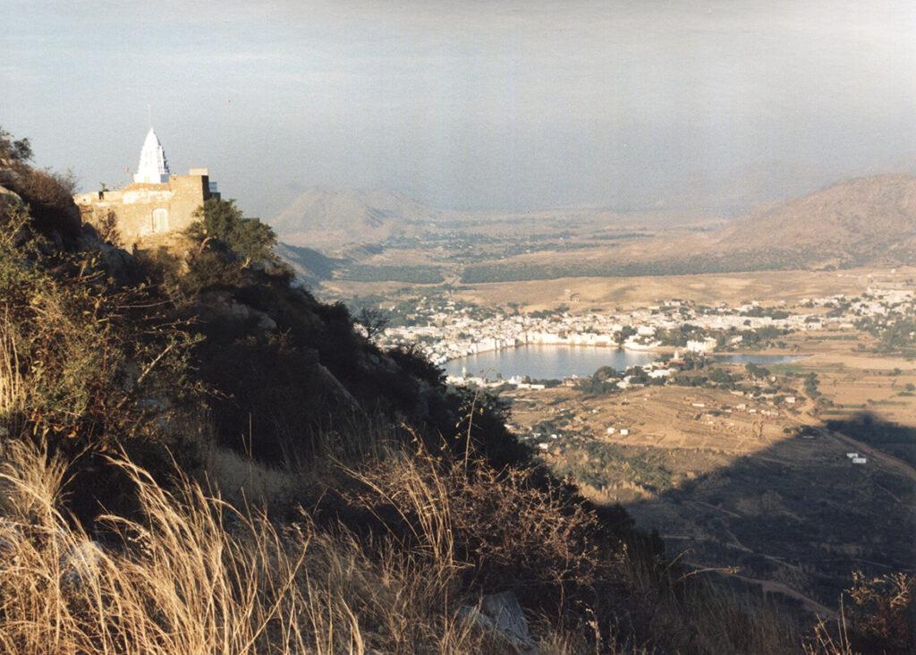 Pushkar below