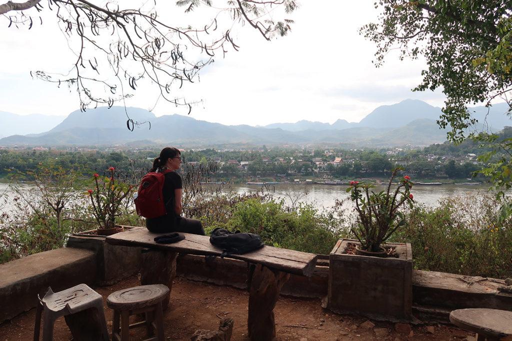 View outside Wat Chomphet