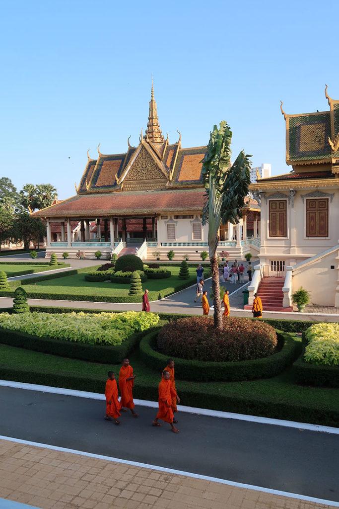 Royal Palace pavilions
